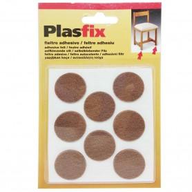 Fieltro adhesivo en forma de círculos de Ø27 mm para patas de mesas y sillas