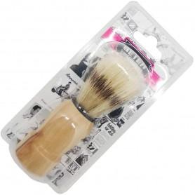 Brocha de afeitar mango madera (mod. 20015)