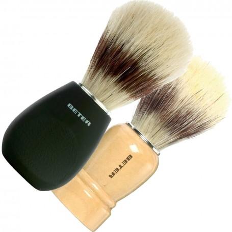 Brocha de afeitar mango negro (mod. 20017)