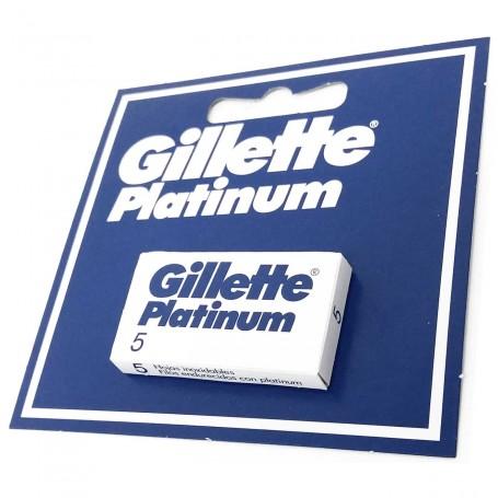Recambios Cuchillas para maquinillas de Afeitar Guillete Platinum