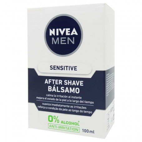Bálsamo After Shave Sensitive Nivea Men 100 ml After shave afeitado