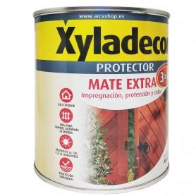 Protector Madera Exterior Color Mate Extra 3 en 1 Xyladecor envase 750 ml