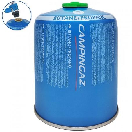 Cartucho Camping Gas Butano/Proponano con Valvula Cv470 Plus Campingaz