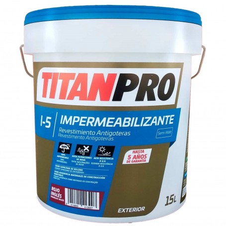 Titanpro I-50 Impermeabilizante Revestimiento Antigoteras.