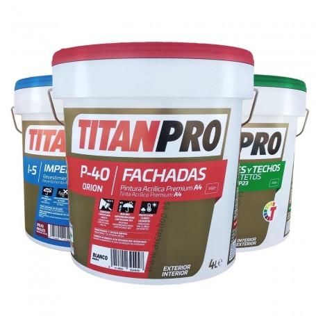 Titan Pro Pinturas Acrílica Exterior Interior Titanlux