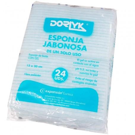 Esponja Jabonosa un solo Uso Dorlyk Clínicas y Hospitales.