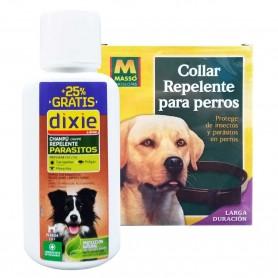 Champú Perros Dixie contra garrapatas, pulgas, piojos, mosquitos