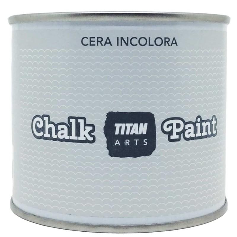 Cera Incolora y Barniz Incoloro Chalk Paint Titanlux