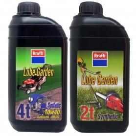 Aceite 2 tiempos maquinaría motor corta cesped y motosierras agrícola Lube Garden krafft