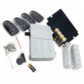 Cerrojo de Seguridad Arregui CI 10 -Dorado y Plateado- con mando a distancia.