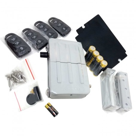 Cerrojo de Seguridad Arregui CI10 con mando a distancia.