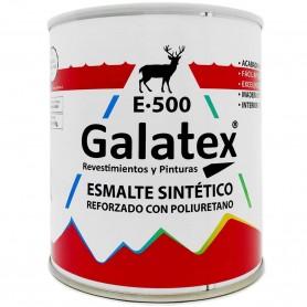 Esmalte Sintético Brillante Blanco y colores, reforzado con Poliuretano. Galatex E-500