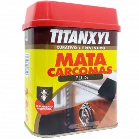 Líquido para la Madera contra la Carcoma (Termitas) TITANXY. Mata Carcoma y termitas. Tratamiento Preventivo y Curativo.