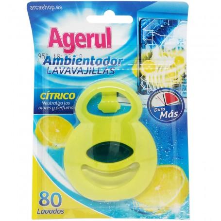 Ambientador Limón o desodorizante para máquina lavavajillas de Agerul