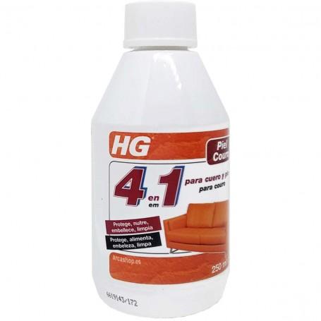 Reparador Piel y Cuero HG, limpia, protege y embellece cuero y piel. Restaurador protector cuero sofás, bolsos, maletas.