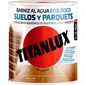 Barniz de Poliuretano al Agua Ecológico para suelos y parquets Titanlux