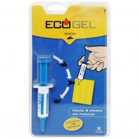 Ecogel Moscas Insecticida en Jeringuilla, gel insecticida de aplicación con jeringuillas, 4 meses sin moscas.