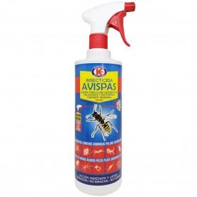 TANZIL Avispas, es un insecticida para avispas y avisperos, actúa indistintamente matando huevo, larva, crisálida o insecto.