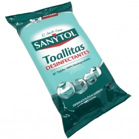 Toallitas Sanytol Desinfectantes, toallitas limpiadoras e higienizantes para el hogar. Mata virus, gérmenes, hongos y bacterias.