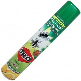 Insecticida Moscas y Mosquitos Oro Matón Limón (casa y jardín). mata moscas, mosquitos (común y tigre) y mosca negra.
