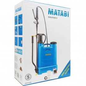 Mochila de Espalda Pulverizadora para Fumigar Matabi 12 litros (pulverizador de espalda de 12 litros evolution Matabi)