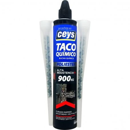 Taco Químico Ceys (Bucha Química) Curado Rápido.