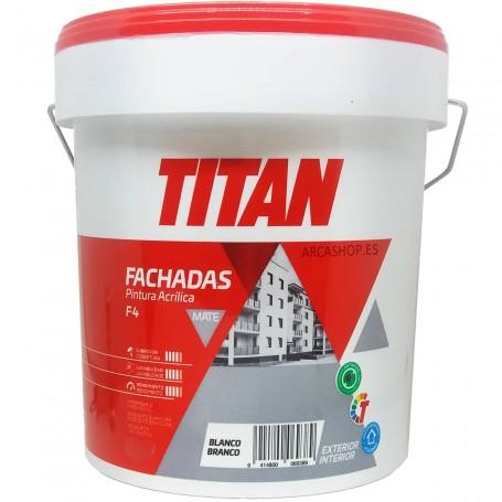 Titan Orion A4. Pintura Plástica interior/Exterior - Blanco Mate