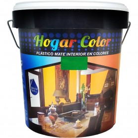 Pintura Plástica Interior Hogar Color Nationalt Paint. 15 litros, 4 litros y 1 litro.