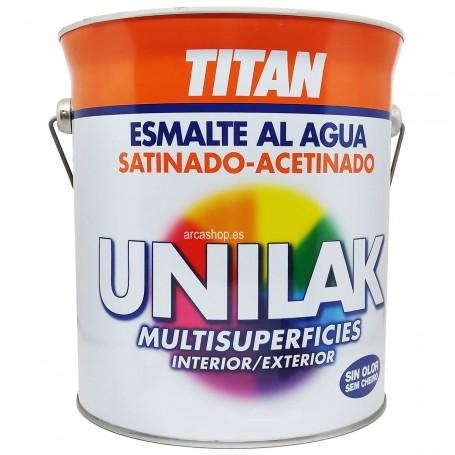 Unilak Esmalte Laca Satinado al Agua Titanlux