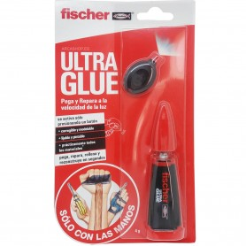 Pegamento Ultra Glue de activación por luz Fischer