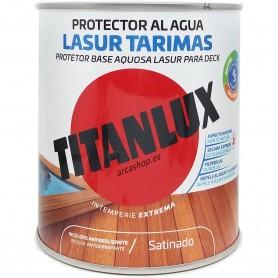 LASUR TARIMAS al Agua Titanlux, protección de suelos y tarimas de madera exterior. Color incoloro e Incoloro Antideslizante.