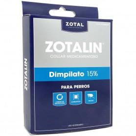 Collar Macotas (Perros) Antiparásitario Medicamentoso Zotalín contra pulgas, piojos y garrapatas.