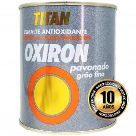 Oxiron Pavonado Titanlux Esmalte Antioxidante 750 ml y 4 litros.