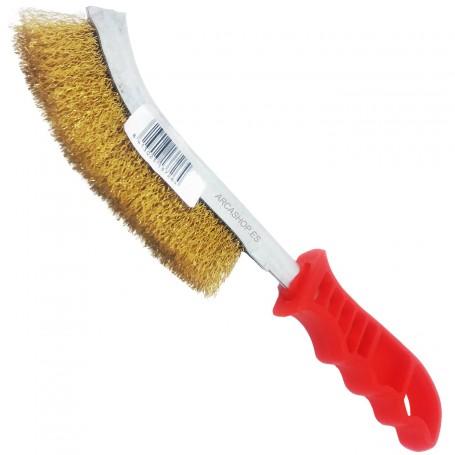 Cepillo Puas Metálicas limpieza y abrasión de superficies.