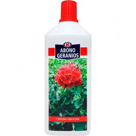 Abono Geranios Impex, complejo nutritivo para todo tipo de geranios en casa y jardín