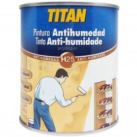 PINTURA ANTI HUMEDAD TITAN impermeabilizante, Antisalitre,  barrera impermeable para paredes y techos.