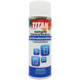 Esmalte Spray Blanco Brillante Electrodomésticos / Sanitarios Titanlux