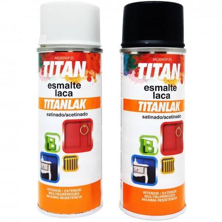 Esmalte Laca Spray Satinado Titanlak Titanlux