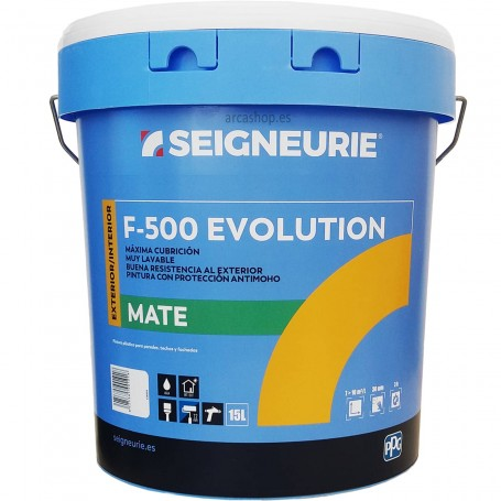 Akroplast F-500 Blanco Mate (DYRUP Seigneurie F-500) 15 litros