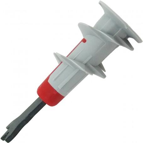 Taco Duoblade Fischer Pladur, taco autoperforante para instalaciones profesionales y domésticas en pladur.