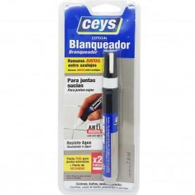 Bolígrafo blanqueador de Juntas Ceys. Reparación y blanqueado de Juntas de azulejos.