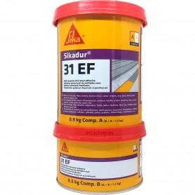 Sikadur 31 EF Adhesivo Bicomponente Tixotrópico a base de Resinas Epoxi.