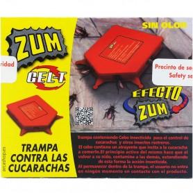 Trampa Cebo Atrayente Mata Cucarachas Zum Gel-T