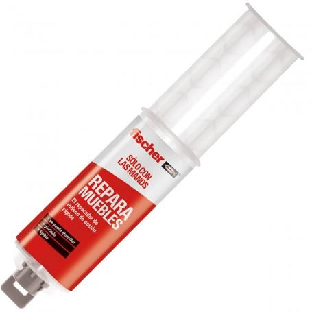 Repara Muebles Adhesivo Reparación Fischer, reparación rápida de puertas de armarios rotas, bisagras y manetas.