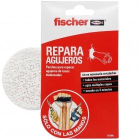 Repara Agujeros Fischer, reparación de agujeros para espiches (tacos pared) desbocados.