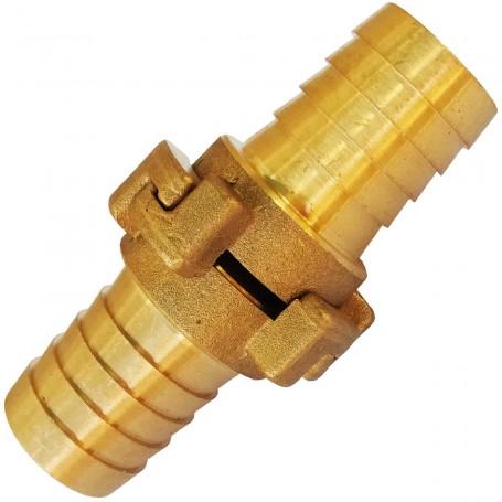 Empalme Enlace Latón Manguera (Racor Latón Barcelona) Ø20 mm, Ø25 mm, Ø30 mm, Ø35 mm, Ø40 mm, Ø45mm, Ø50 mm y Ø60 mm