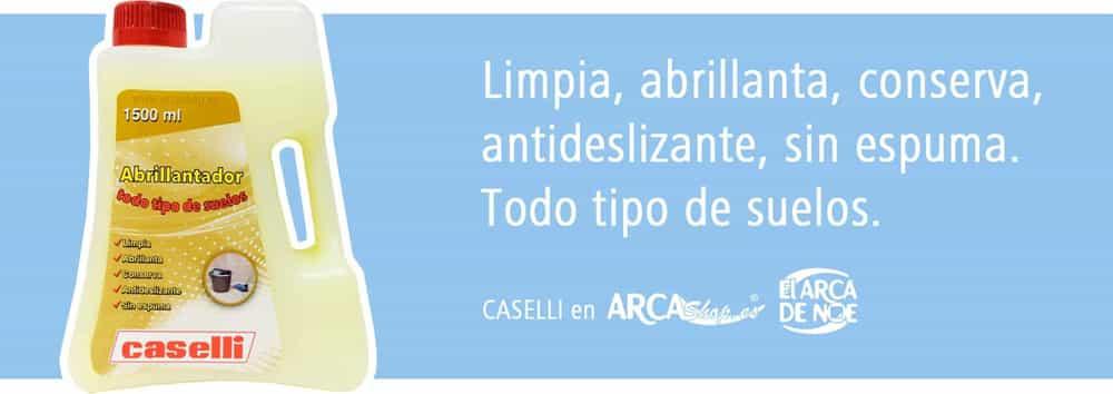 Caselli Abrillantador Todo Tipo De Suelos A14 Limpia  ~ Como Limpiar Suelo Antideslizante