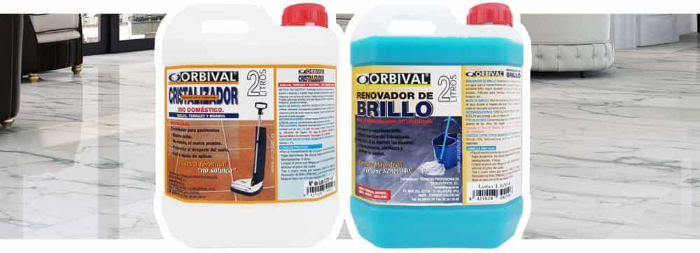 Cristalizador suelos marmol y terrazo orbival for Marmol para suelos
