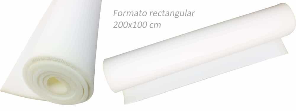e5078b3295f Lámina Goma Espuma 200 x 100 cm. Espesor 1 cm