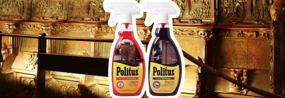 Politus Spray Superfices Barnizadas Y Puertas Barnizadas Limpia  ~ Como Limpiar Muebles De Madera Antiguos